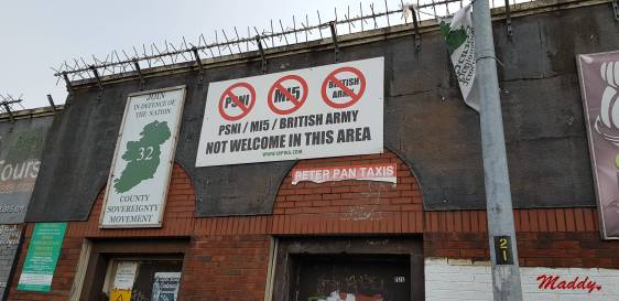 british army not welcome